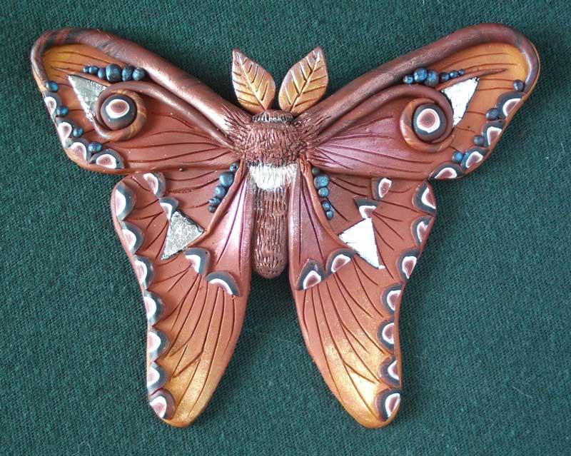 Itzpapalotl (Aztec Moth) Pin/Pendant