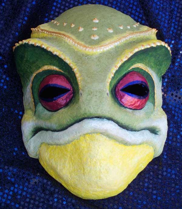Frog Alien Mask